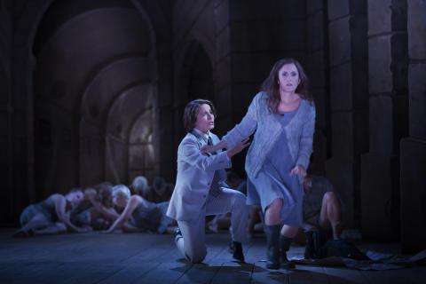 Idomeneo på Drottningholm: Katija Dragojevic - Idamante och Marianne Hellgren Staykov - Ilia