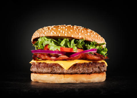 Grilstad Hamburger