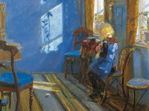 Stor utstilling om Skagenmaler Anna Ancher til Lillehammer