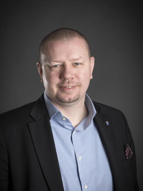 Roger Fredriksson, kommunstyrelsens ordförande