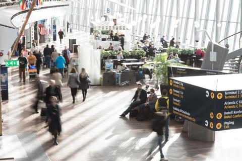 Passagerarrekord på Swedavias flygplatser 2017