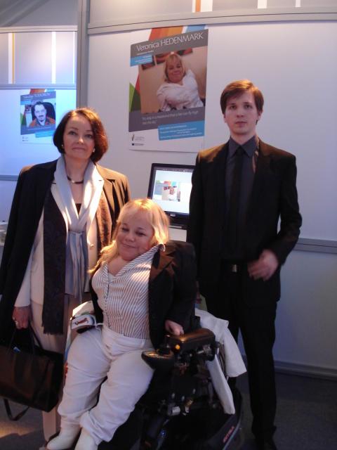 Veronica Hedenmark utsedd av EU att inspirera företagare