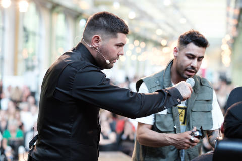 Jac Ludlow (UK) Konferenciär i Copenhagen Barber Battle 2019