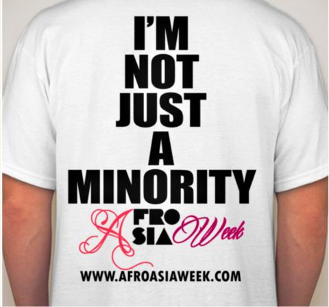Join the Not Just A Minority Campaign