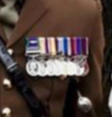 Appeal following theft of treasured military medals in Aldershot