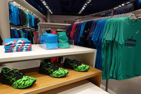 ASICS Flagship store visar Stockholm marathon-kollektionen 2016