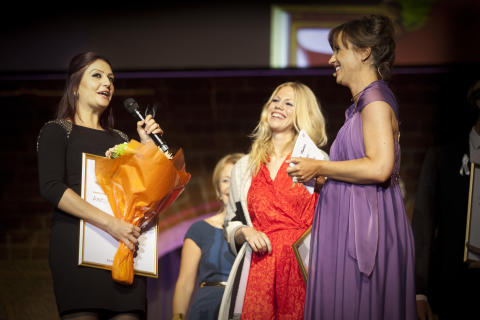 Årets unga Företagare 2012: Andra och Tredje-pristagarna