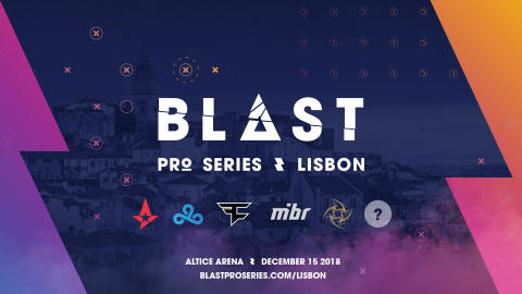 BLAST Pro Series Lisbon, accreditation