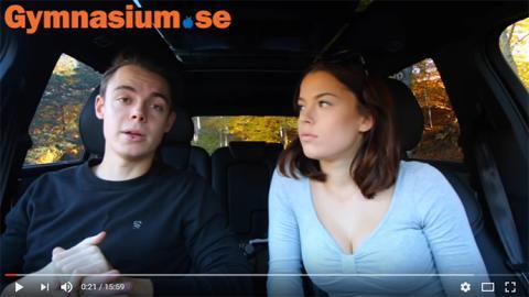 Gymnasium.se i samarbete med YouTube-stjärnorna
