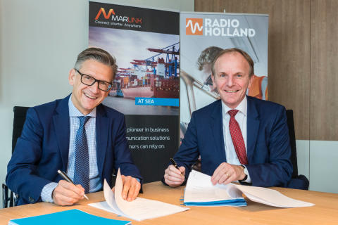 Marlink and Radio Holland strengthen their long-term partnership