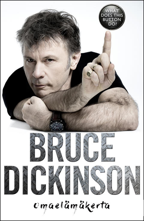 HarperCollins Nordic julkaisee tänä syksynä rocklegenda Bruce Dickinsonin omaelämäkerran
