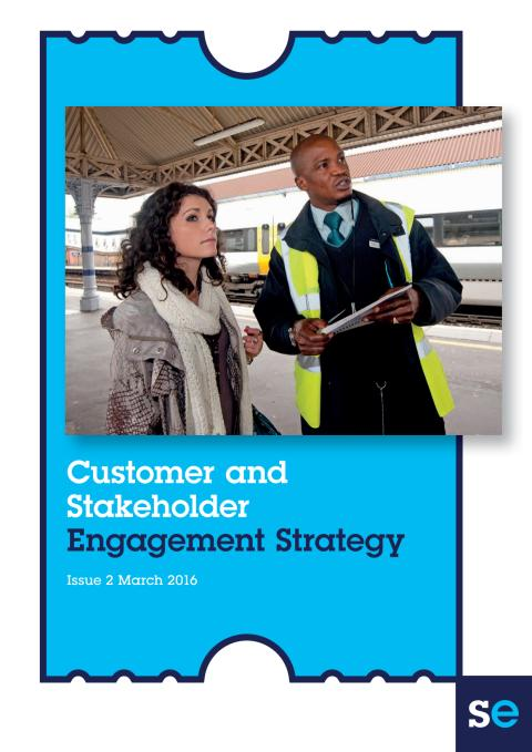 Customer and Stakeholder Engagement Strategy - April 2016