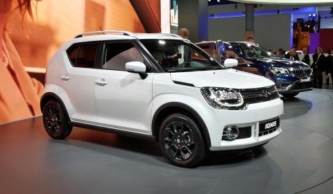 Europapremiere på ny Suzuki Ignis