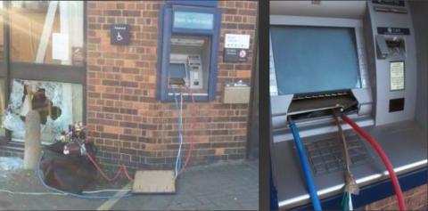 Sprængninger mod pengeautomater er stærkt stigende