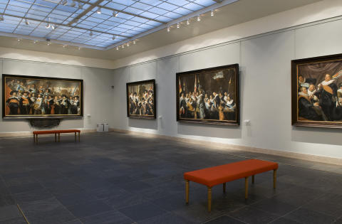 Archery Hall, Frans Hals Museum, Haarlem, the Netherlands
