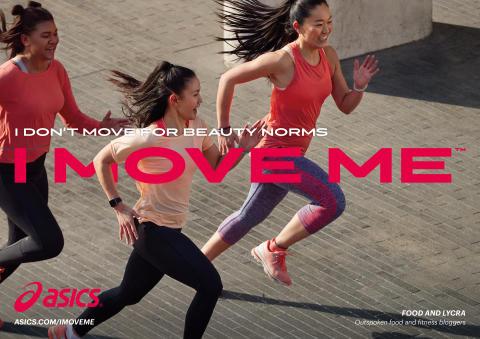 ASICS sätter hela världen i rörelse med den nya kampanjen I Move Me