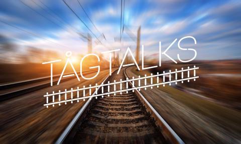 Premiär för Tågtalks – rullande samtal om vår tids stora frågor