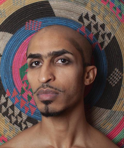 Selvportrett av Ahmed Umar