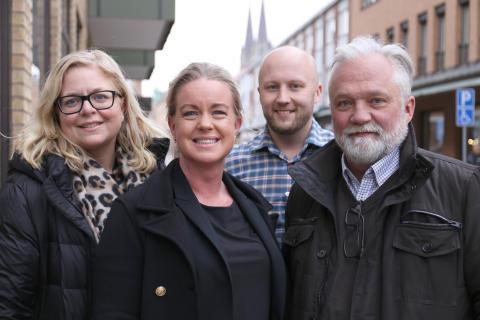 Helena Nyman Friberg, Anna Engesvik, Jonas Ahlén Persson, Peter Blom