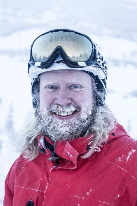 Restaurangchef Jonas Hamlund i Tännäskröket