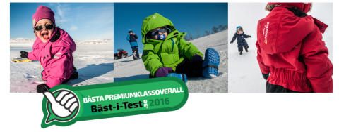 ISBJÖRN of Swedens vinteroverall PENGUIN testvinnare för fjärde året i rad