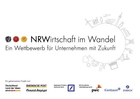 """Zurich unterstützt den Wettbewerb """"NRW-Wirtschaft im Wandel"""""""
