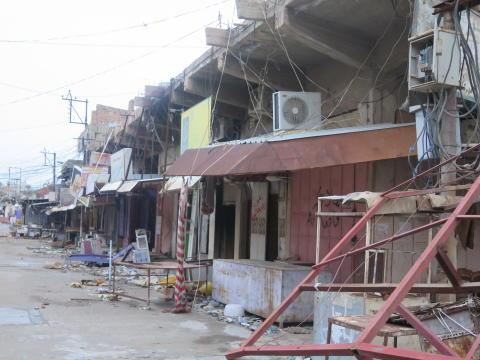 Massförstörelse av byar i norra Irak utförda av pesmhergastyrkor kan utgöra krigsbrott