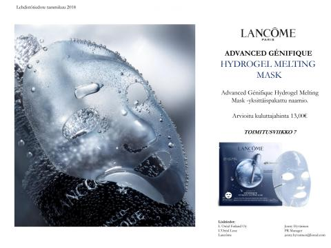 Lancôme Advanced Genifique Hydrogel Melting Mask