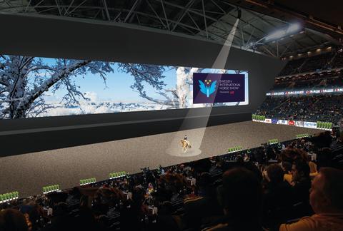 Sveriges största LED-skärm