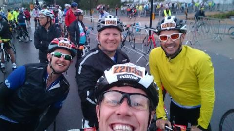 Join our SportsAid RideLondon team now to save 25%!