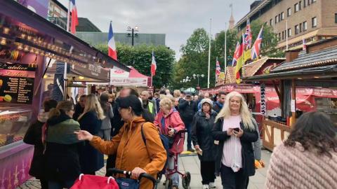 Södertälje International Food Festival 2019 16.9 notext