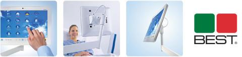 Prisbelönta Patientterminaler för bred patientunderhållning, patientspecifik information och tidsbesparande kommunikation.