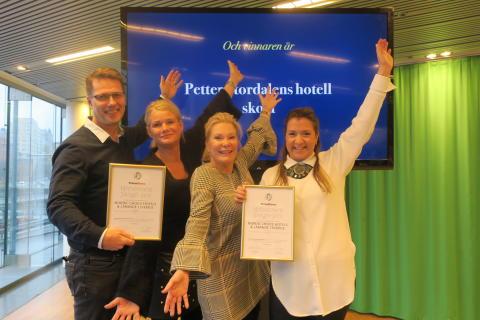 Realgymnasiets nya hotellutbildning  vann pris som bästa banbrytare