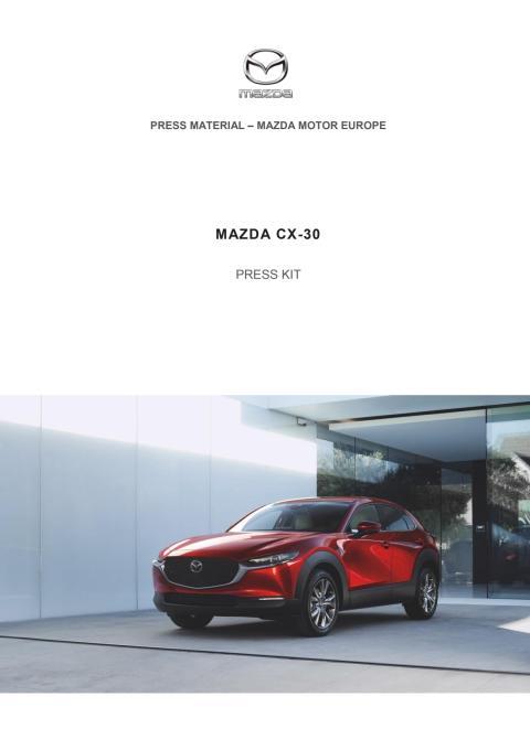 Pressekit Mazda CX-30
