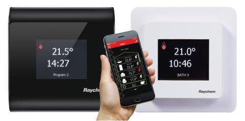 Nyhet - SENZ golvvärmetermostater med touch, swipe och wifi