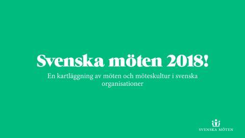 En kartläggning av möten och möteskultur i svenska organisationer 2018