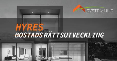 Systemhus utvecklar ett nytänkande koncept för hyresbostäder