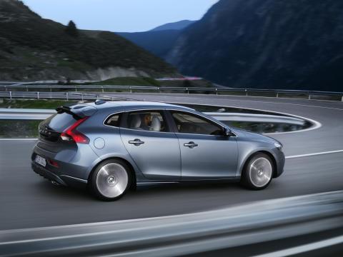Nya Volvo V40 - Design:  Äkta skandinavisk lyxkänsla