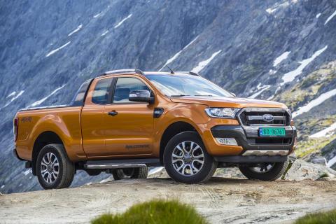 Nye Ford Ranger