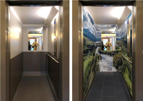 Nu flyttar naturen in i Hjulstas hissar