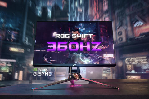 ASUS ROG Announces the ROG Swift 360Hz, World's First 360Hz Gaming Monitor