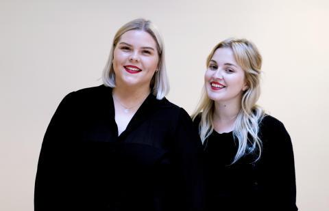 Johanna Nordström och Irena Pozar.