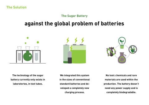 Zuckerbatterie Bild 3