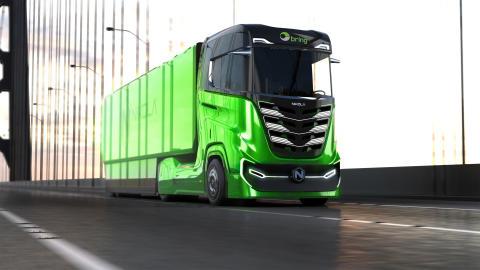 Posten har bestilt hydrogendrevet lastebil