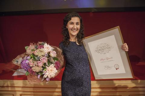 Negra Efendić, vinnare av Årets Berättare 2016
