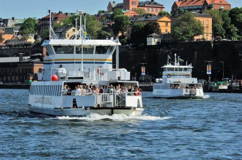Ny färjelinje till Fotografiska och Skeppsholmen västra