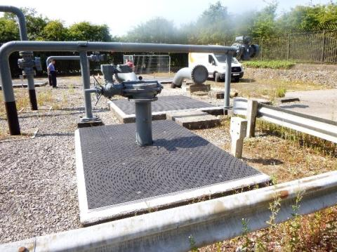 Fibrelite covevers installed at cadent Gas site