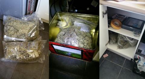 Cannabis recovered in Croxteth