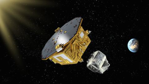 Lyckad separation av LISA Pathfinder