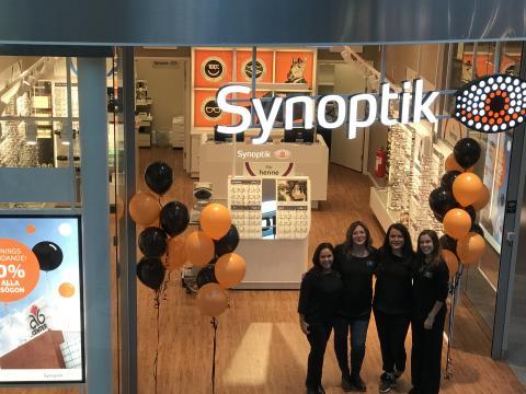 Synoptik öppnar ny butik i Jönköping  – inviger glasögoninsamling till Optiker utan gränser
